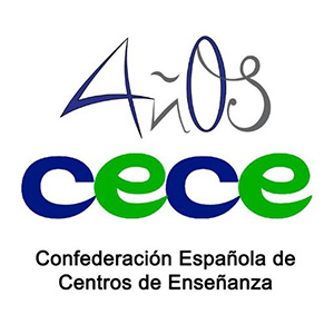 The Spanish Confederation of Education and Training Centers (CECE) is a non-profit and professional organization founded in 1977. It represents a wide educational sector in Spain from nursery school to university level. It has more than 2.000 Education and training centers among its members, what implies around 1.000.000 students and 60.000 teachers.